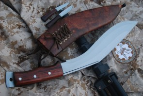GURKHA AFGHAN ISSUE BROWN SHEATH KUKRI