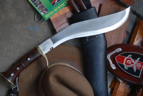 14 INCH DAGGER ALL ROUNDER KUKRI WITH BRASS GUARD KUKRI